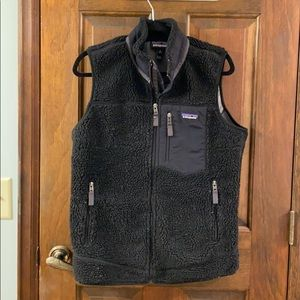 Patagonia Black Fleece Vest